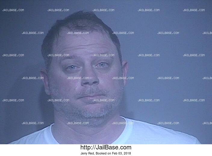 JERRY RED mugshot picture