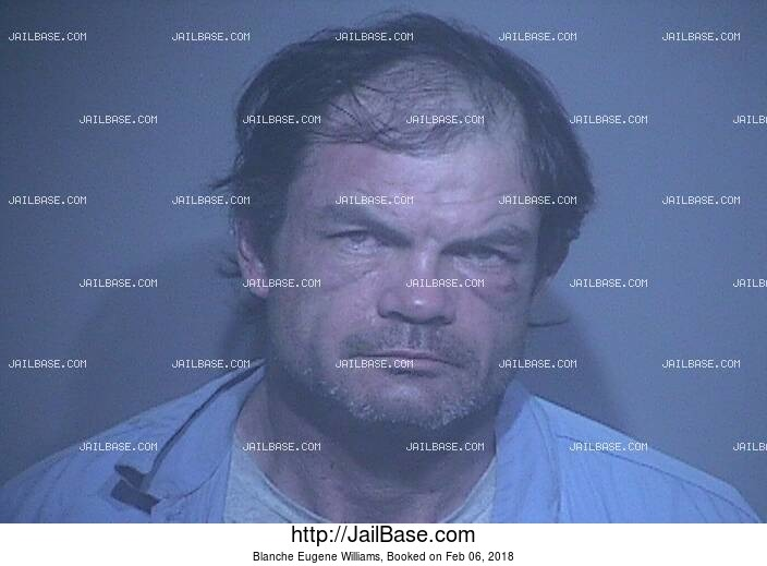 BLANCHE EUGENE WILLIAMS mugshot picture