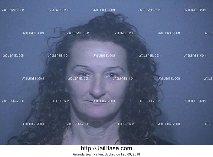 AMANDA JEAN PATTON mugshot picture