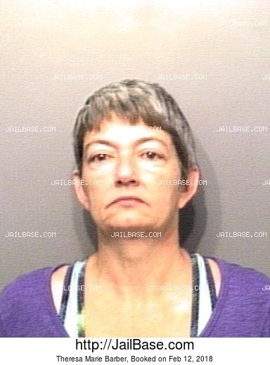 THERESA MARIE BARBER mugshot picture