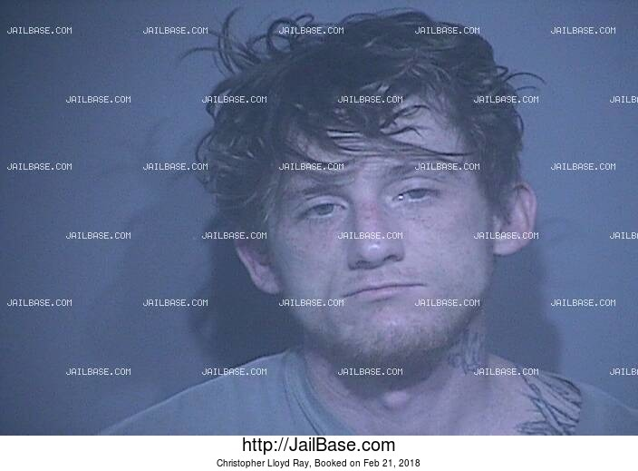 CHRISTOPHER LLOYD RAY mugshot picture