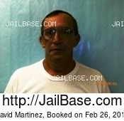 DAVID MARTINEZ mugshot picture