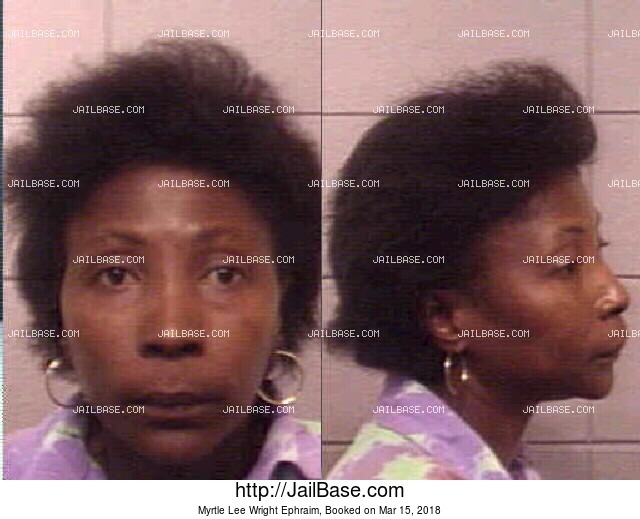 MYRTLE LEE WRIGHT EPHRAIM mugshot picture