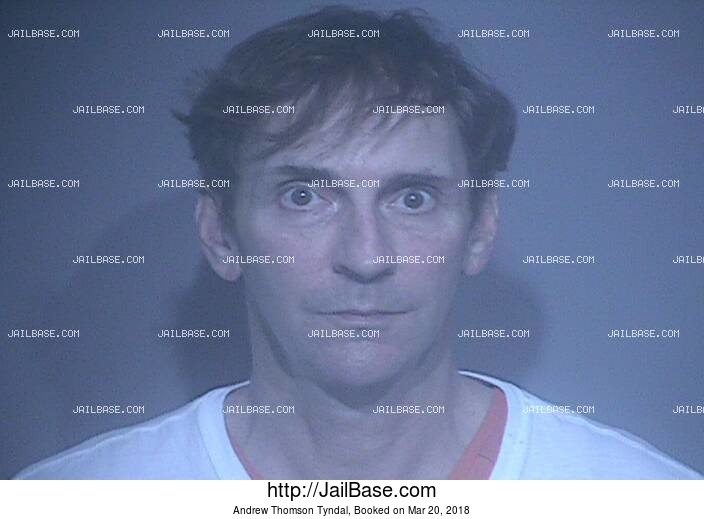 ANDREW THOMSON TYNDAL mugshot picture