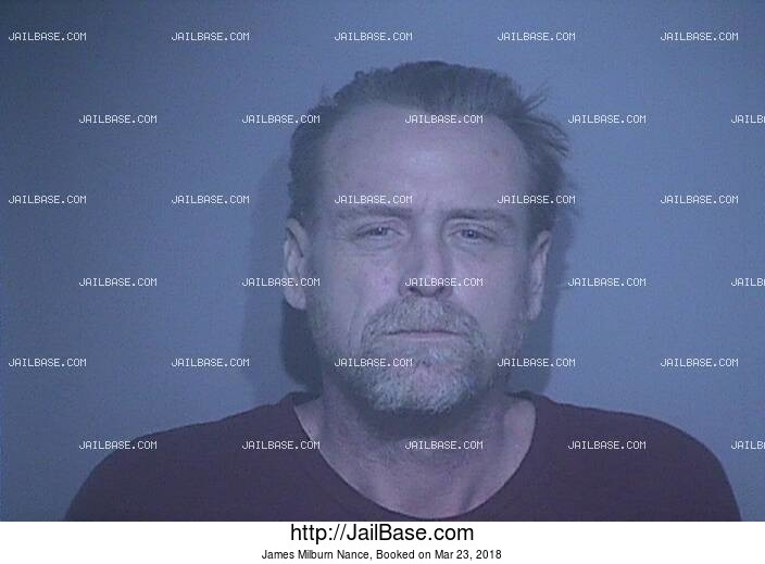 JAMES MILBURN NANCE mugshot picture