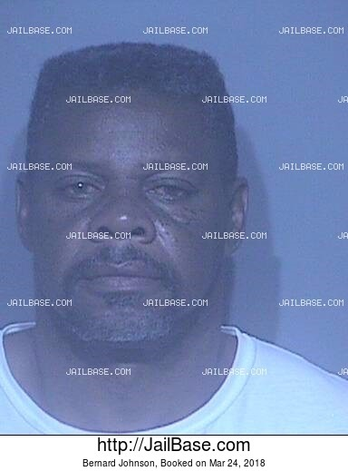 BERNARD JOHNSON mugshot picture