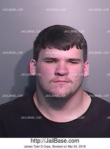 JAMES TYLER D COPE mugshot picture
