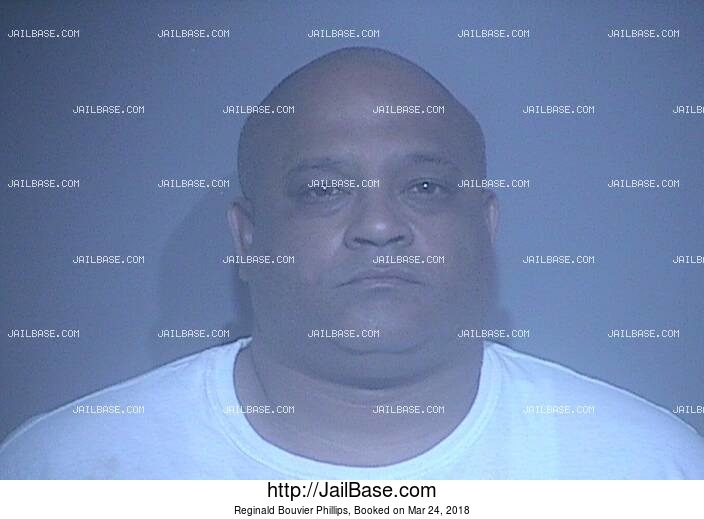REGINALD BOUVIER PHILLIPS mugshot picture