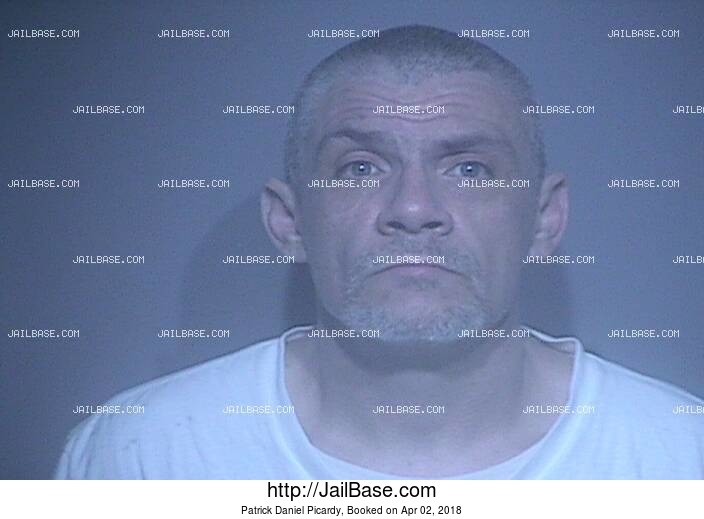 PATRICK DANIEL PICARDY mugshot picture