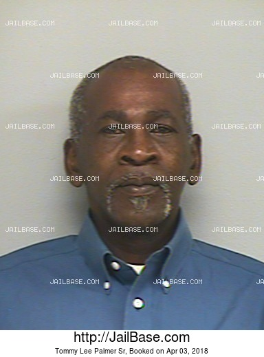 TOMMY LEE PALMER SR mugshot picture