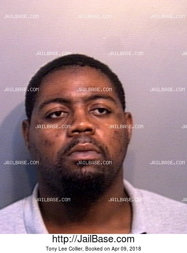 TONY LEE COLLIER mugshot picture