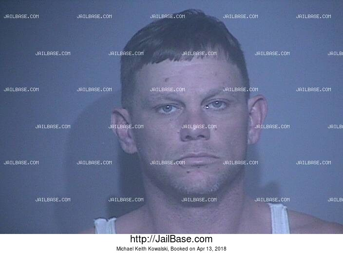 MICHAEL KEITH KOWALSKI mugshot picture