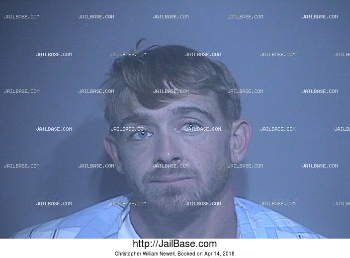 CHRISTOPHER WILLIAM NEWELL mugshot picture