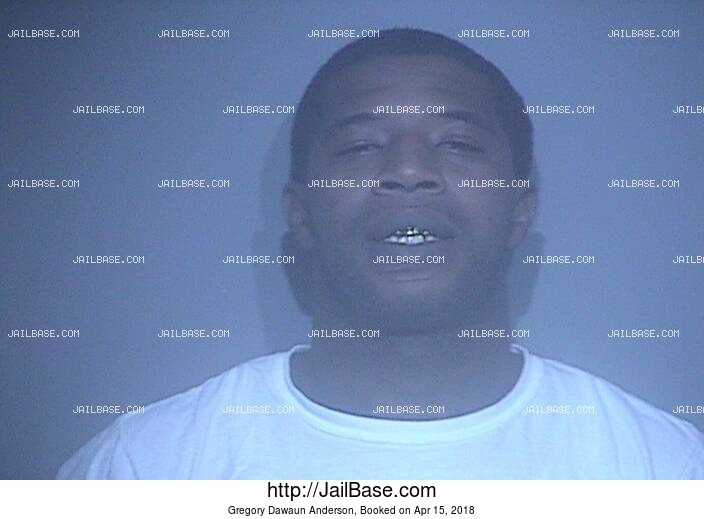 GREGORY DAWAUN ANDERSON mugshot picture