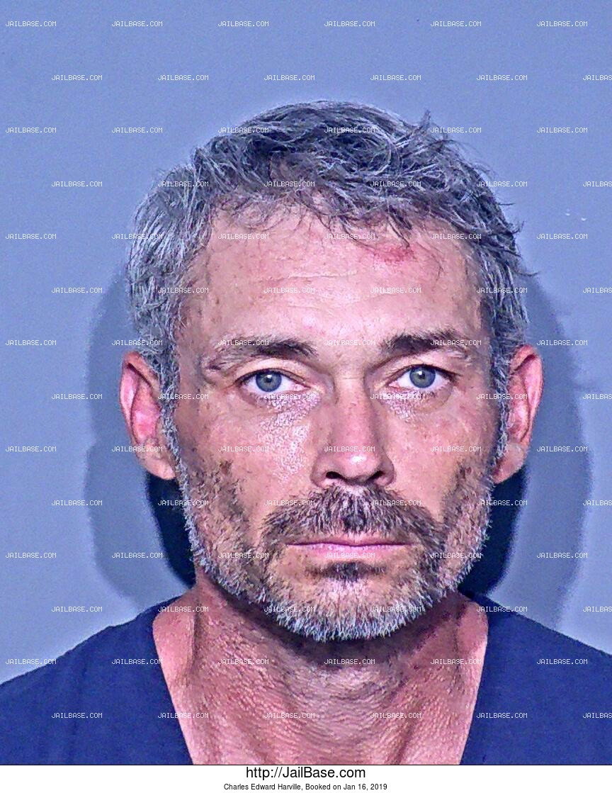 CHARLES EDWARD HARVILLE mugshot picture