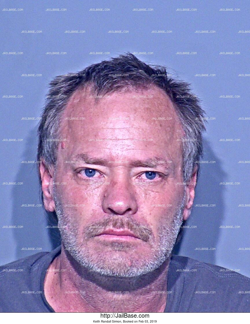 KEITH RANDALL SIRMON mugshot picture