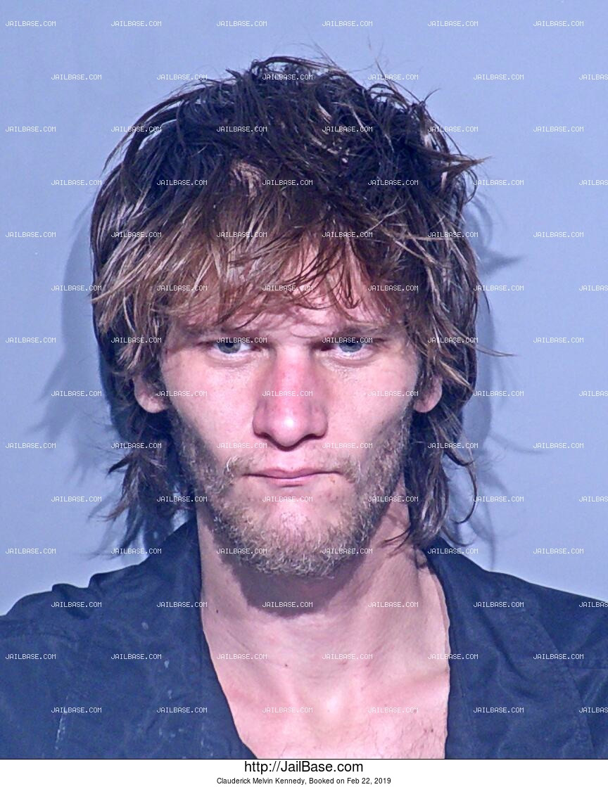 CLAUDERICK MELVIN KENNEDY mugshot picture