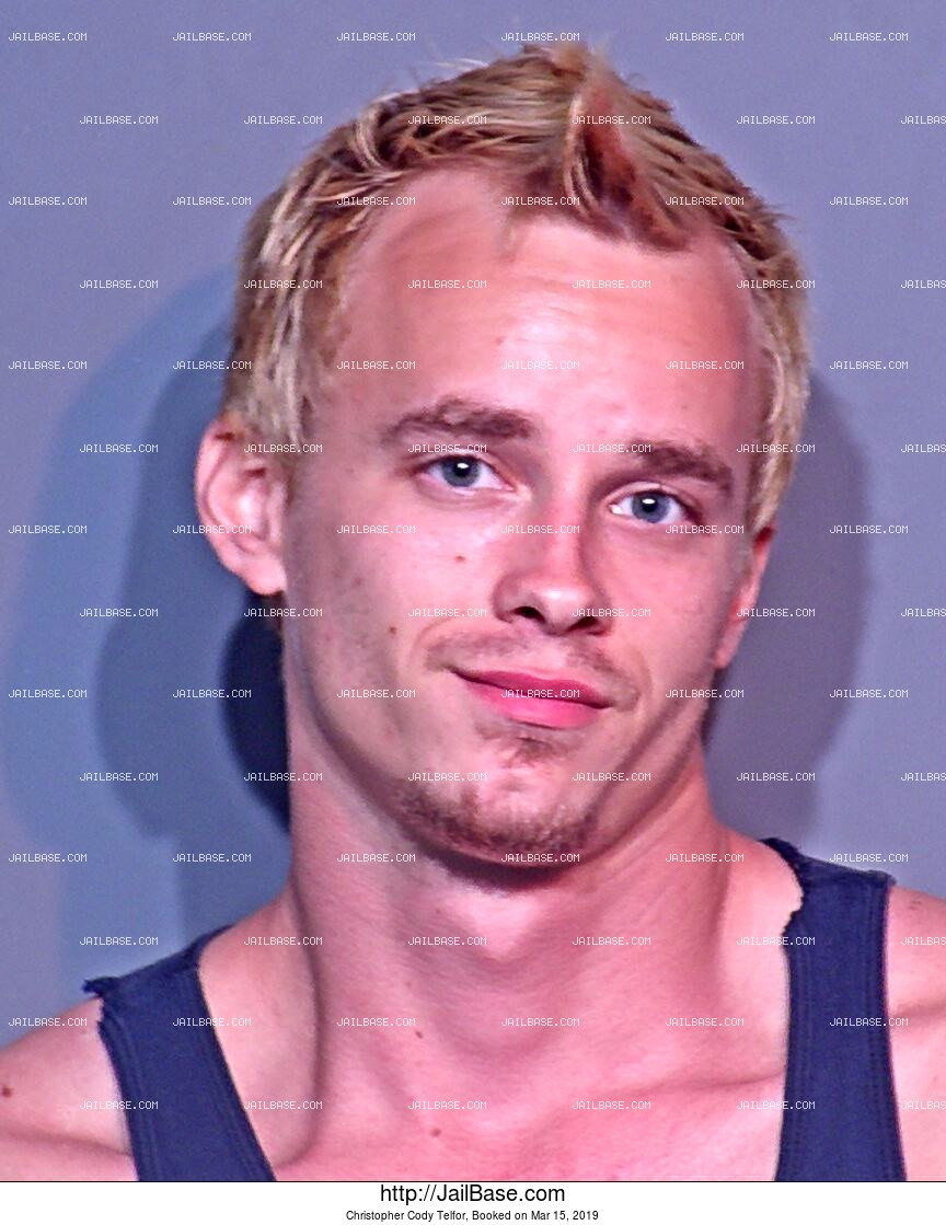 CHRISTOPHER CODY TELFOR mugshot picture