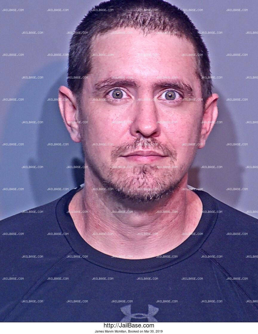 JAMES MARVIN MCMILLAN mugshot picture