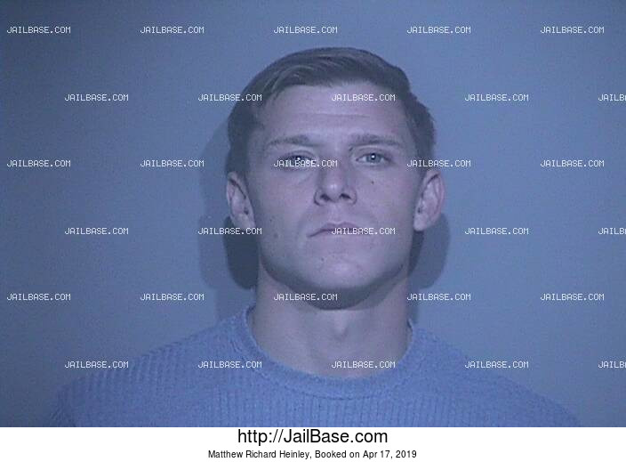 MATTHEW RICHARD HEINLEY mugshot picture