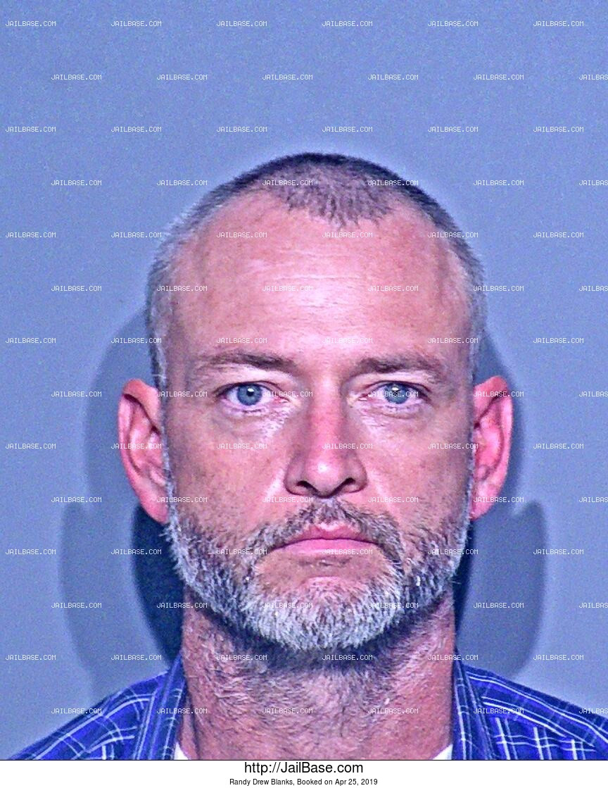 RANDY DREW BLANKS mugshot picture
