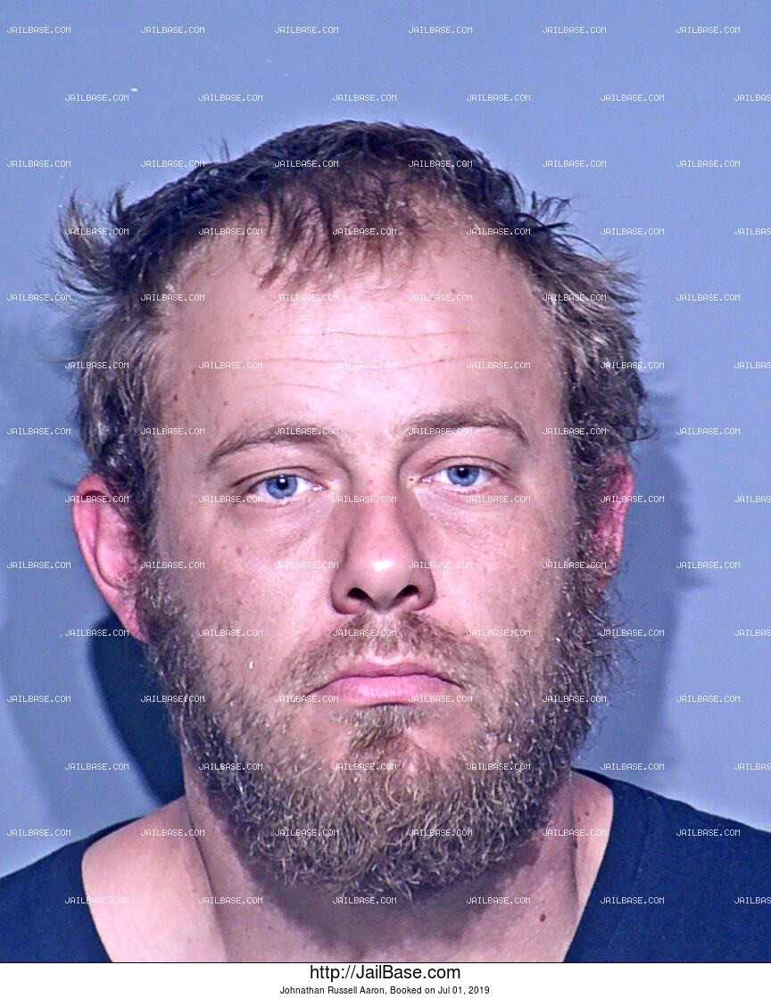 JOHNATHAN RUSSELL AARON mugshot picture