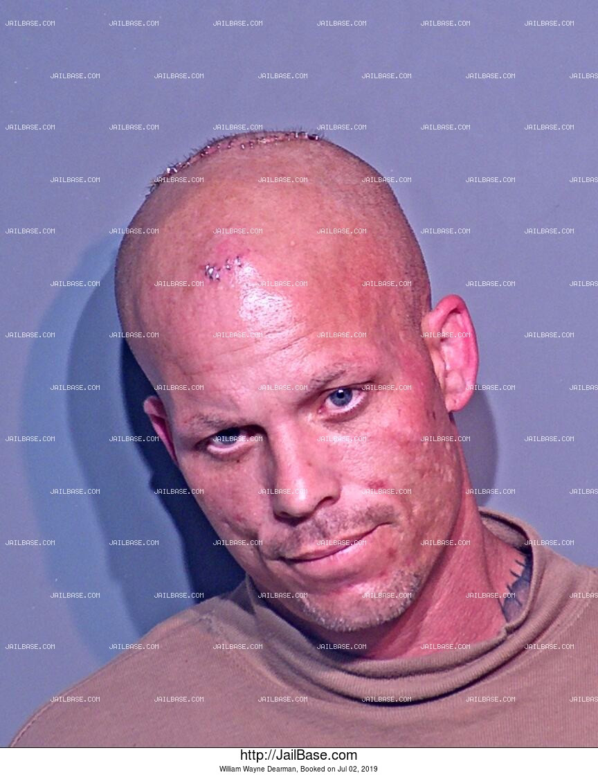 WILLIAM WAYNE DEARMAN mugshot picture