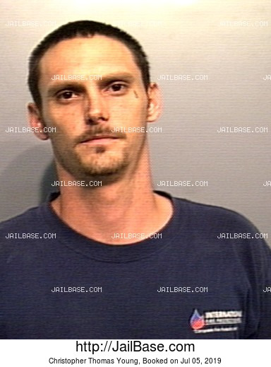 CHRISTOPHER THOMAS YOUNG mugshot picture