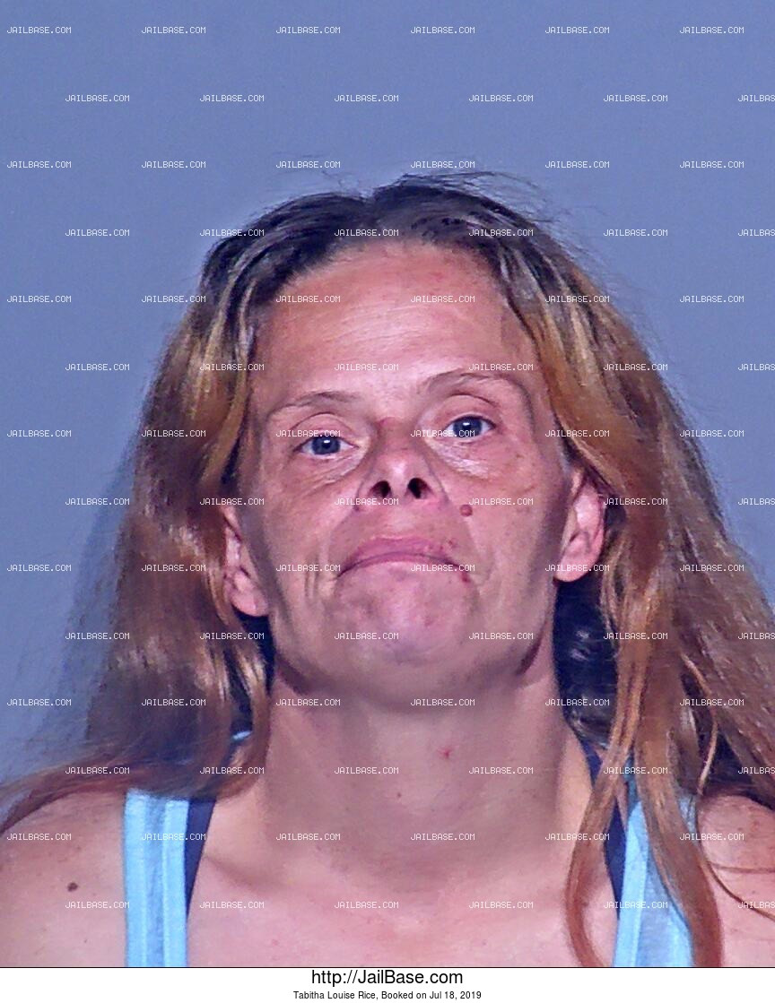 TABITHA LOUISE RICE mugshot picture