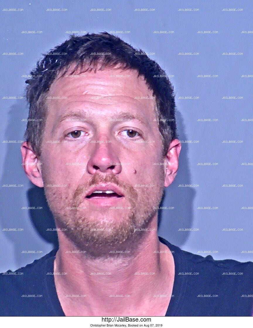 CHRISTOPHER BRIAN MCCARLEY mugshot picture