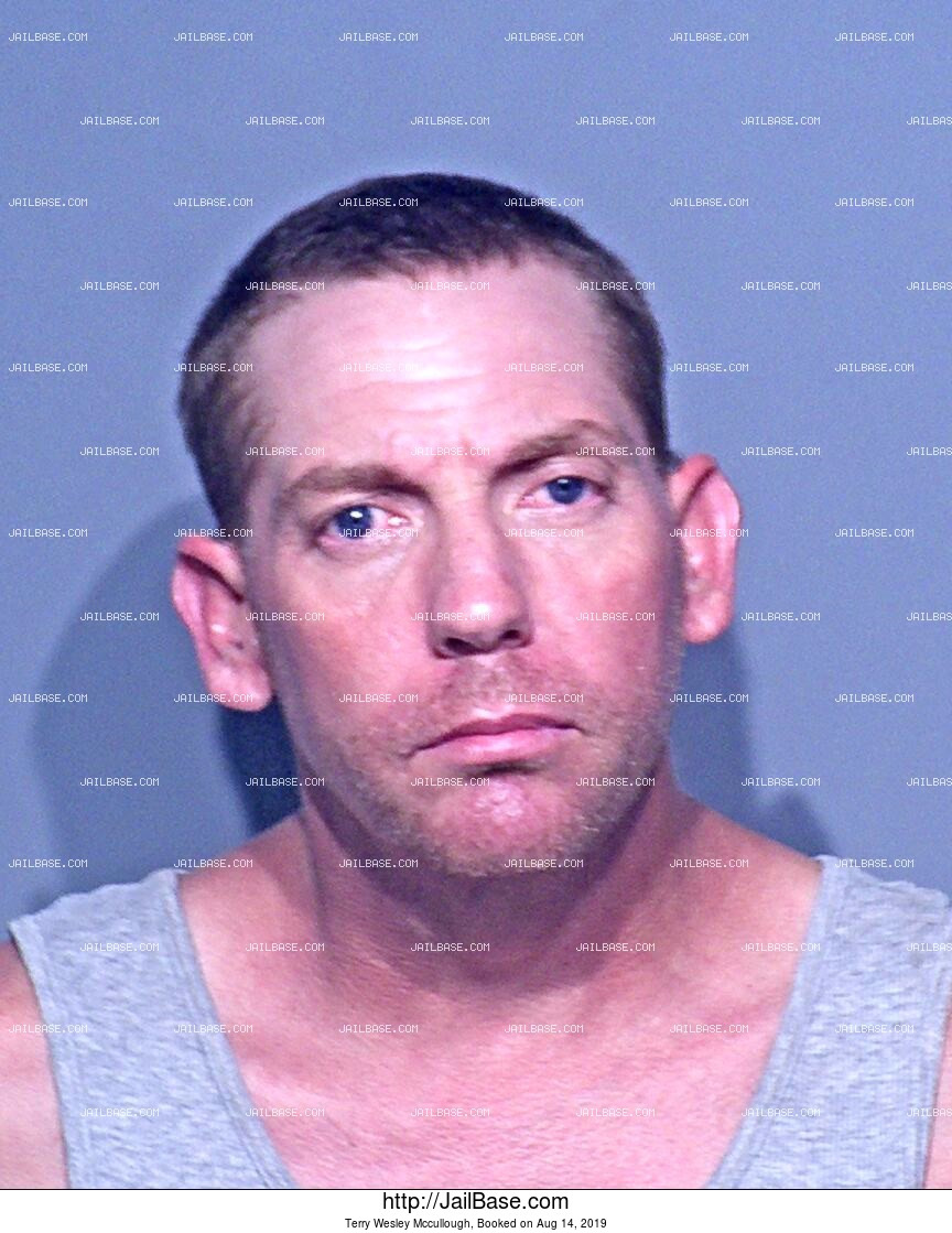 TERRY WESLEY MCCULLOUGH mugshot picture