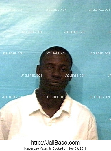 NARVER LEE YATES JR mugshot picture