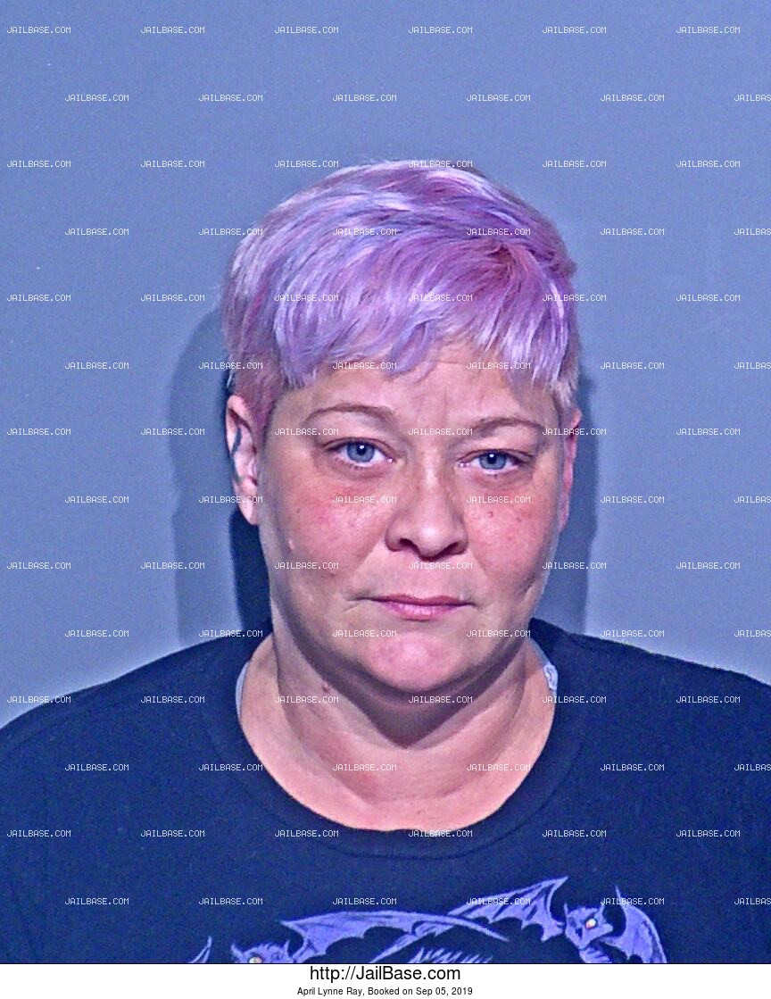 APRIL LYNNE RAY mugshot picture