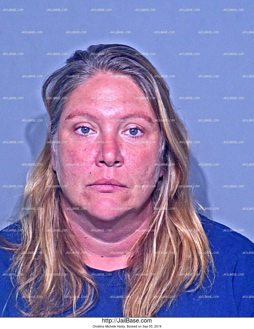 CHRISTINA MICHELLE HARDY mugshot picture