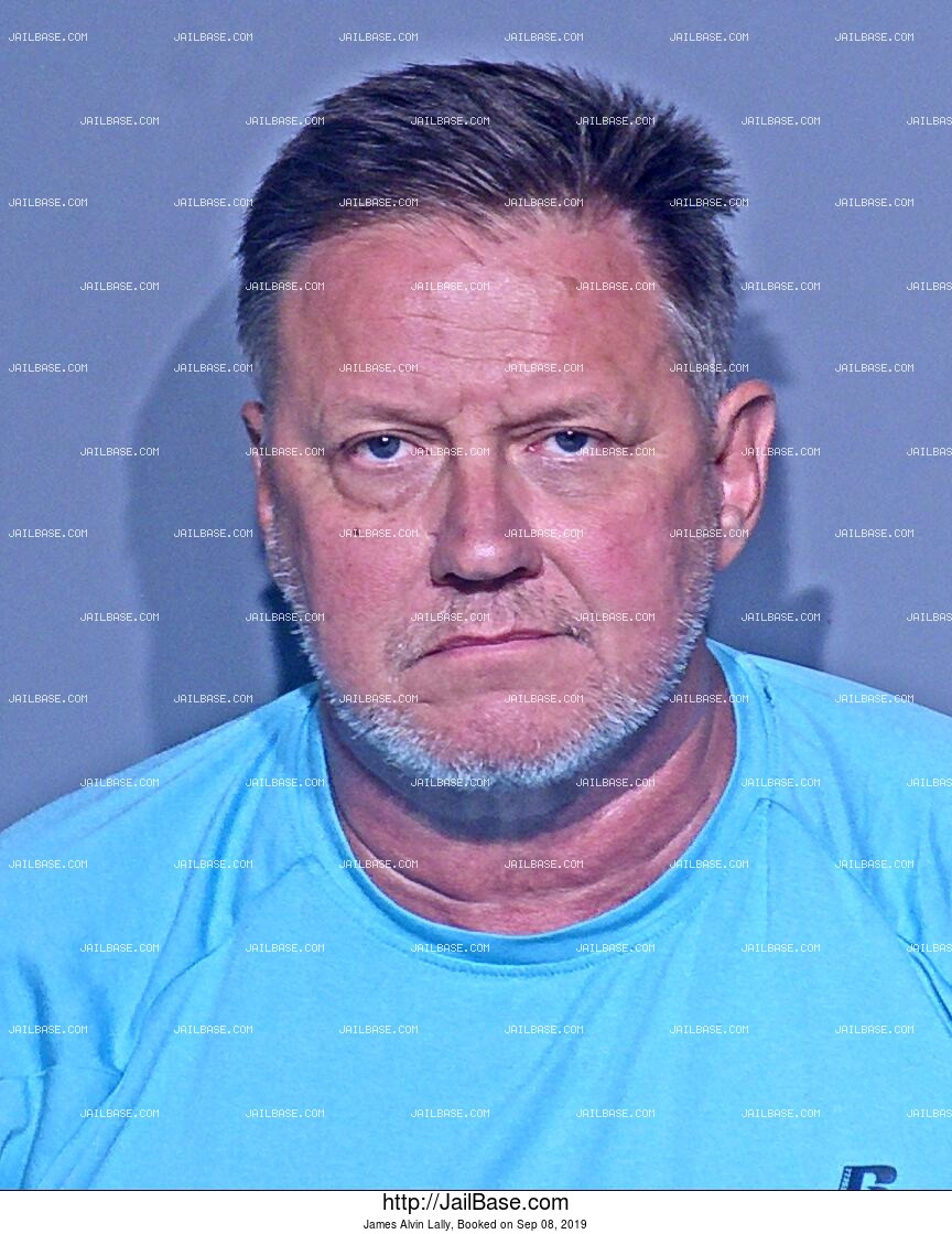 JAMES ALVIN LALLY mugshot picture