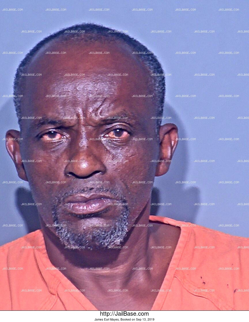 JAMES EARL MAYES mugshot picture