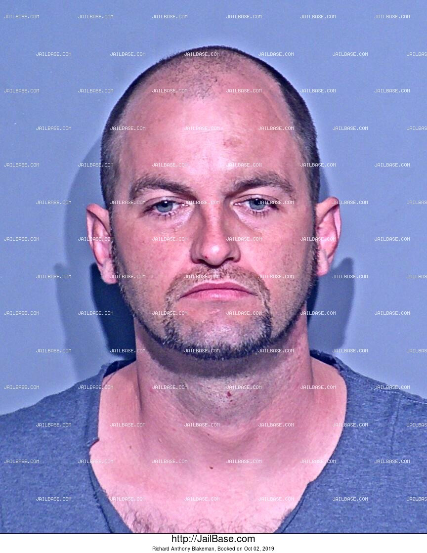 RICHARD ANTHONY BLAKEMAN mugshot picture
