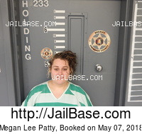 MEGAN LEE PATTY mugshot picture