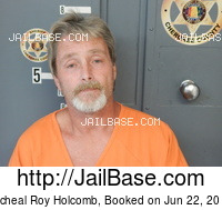 MICHEAL ROY HOLCOMB mugshot picture