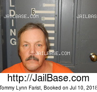 TOMMY LYNN FARIST mugshot picture