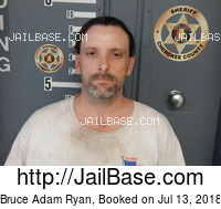 BRUCE ADAM RYAN mugshot picture