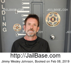 JIMMY WESLEY JOHNSON mugshot picture