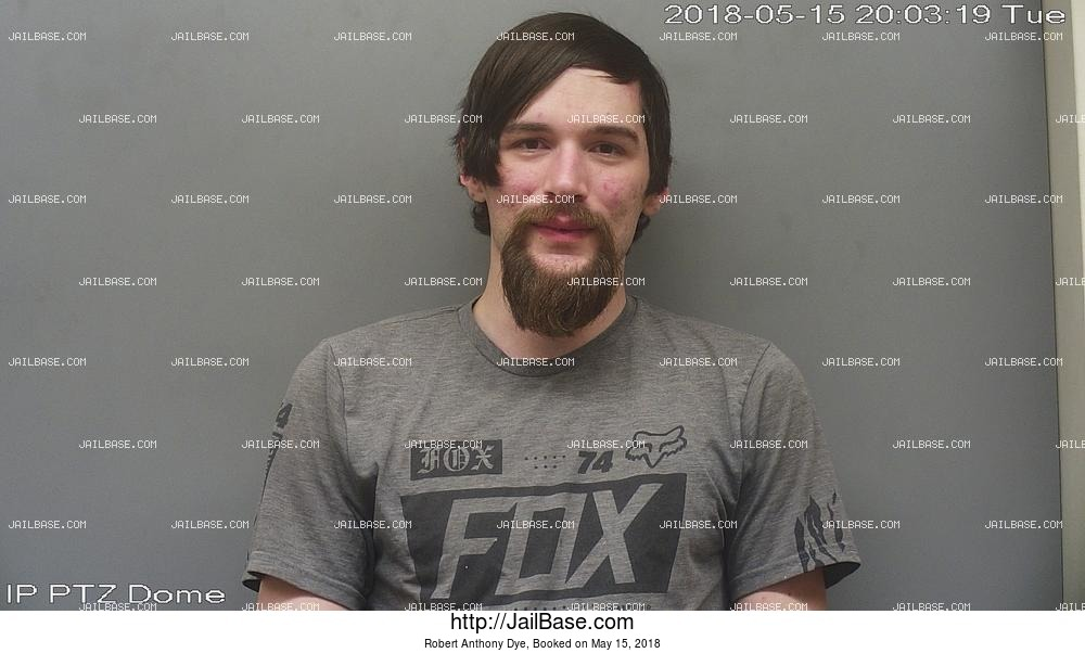 ROBERT ANTHONY DYE mugshot picture