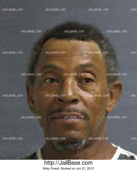 Ricky Powell mugshot picture