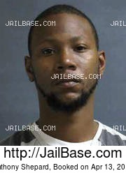Anthony Shepard mugshot picture