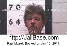 Paul Mizzell mugshot picture