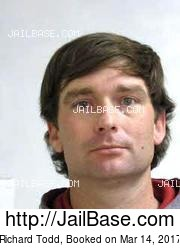 Richard Todd mugshot picture