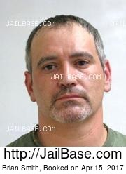Brian Smith mugshot picture