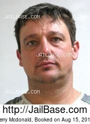 Terry Mcdonald mugshot picture