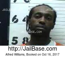 Alfred Williams mugshot picture
